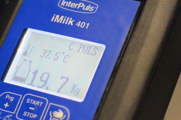 Electronic Milk Measurement by Interpuls