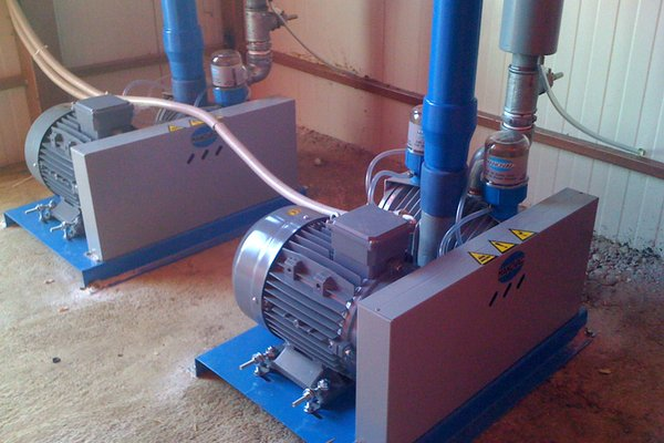State-of-the-art Manovac vacuum pumps