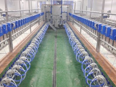 Milking equipment for sheeps and goats